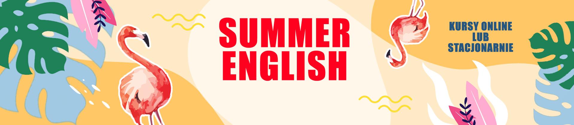 summer english banner glowna