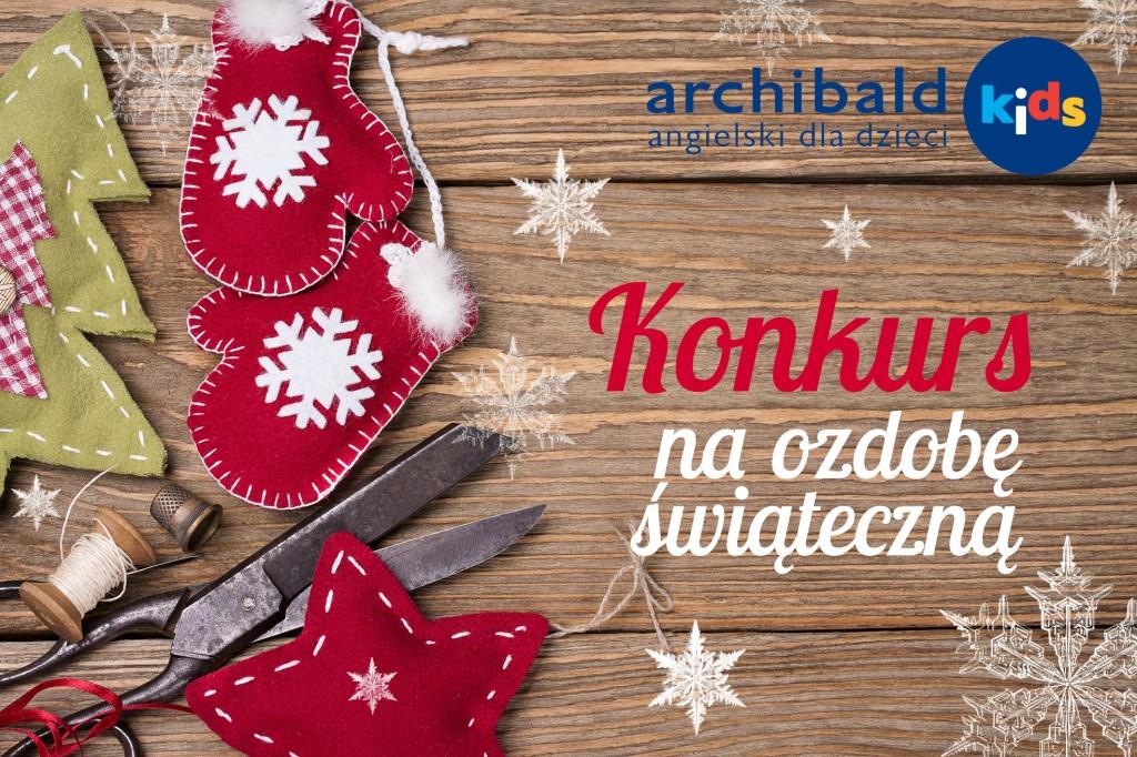 konkurs świąteczny Archibald Kids