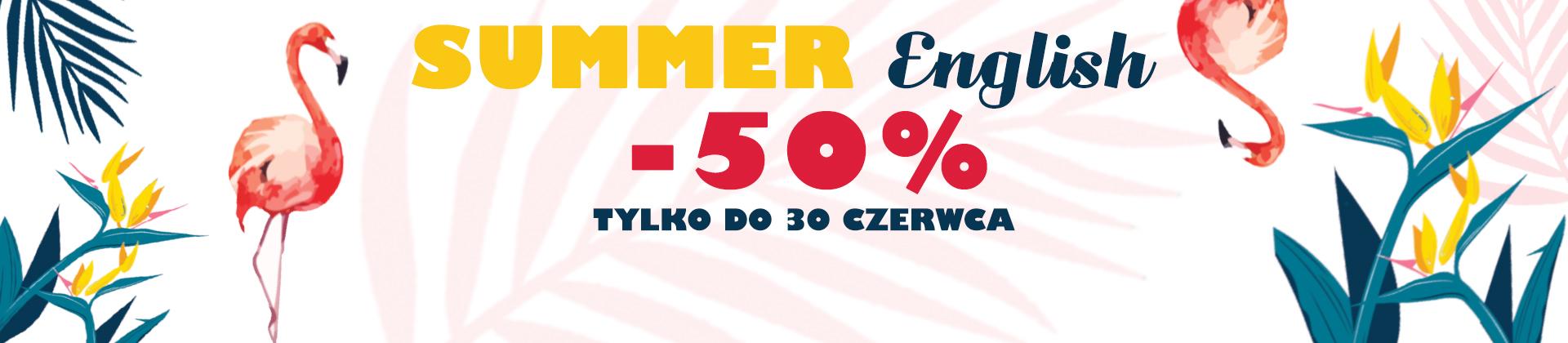 kursy wakacyjne -50%
