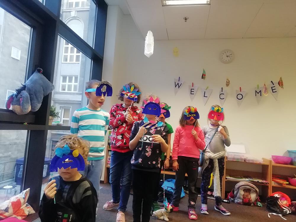 angielski dla dzieci warszawa ferie jezykowe polkolonie