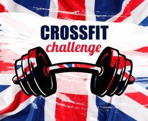 crossfit challenge flaga
