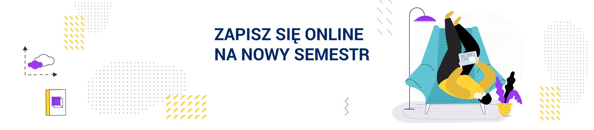 zapisz sie online na nowy semestr