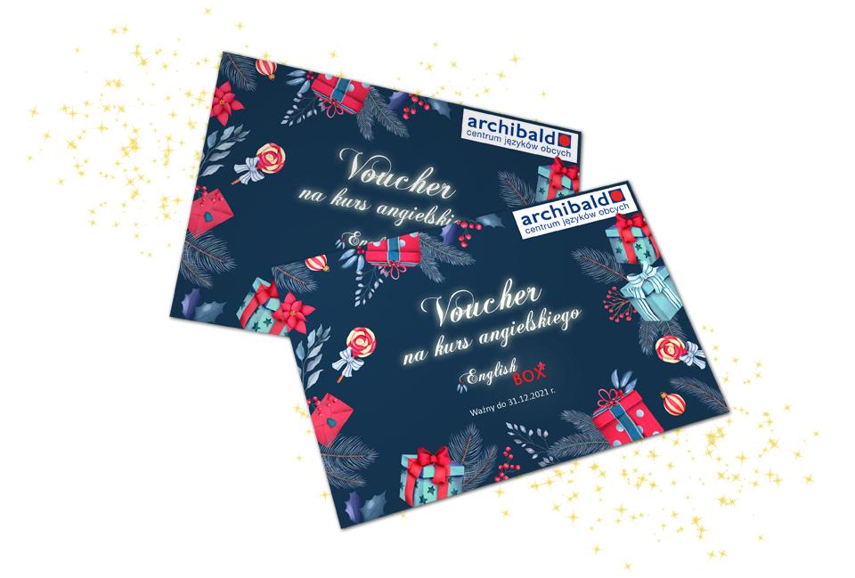 voucher english box prezent